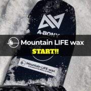MOUNTAIN LIFE WAXの取り扱いがスタートしました!